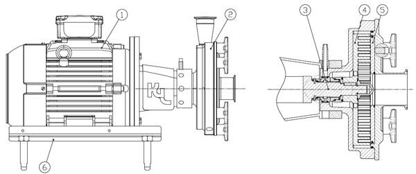 剪切乳化泵结构图